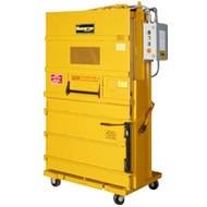 The M-42 LPSS / Low Profile Space Saver Vertical Baler