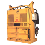 The M-60 LPSS / Low Profile Space Saver Vertical Baler