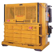The V-7240 / Low Profile Space Saver Vertical Baler